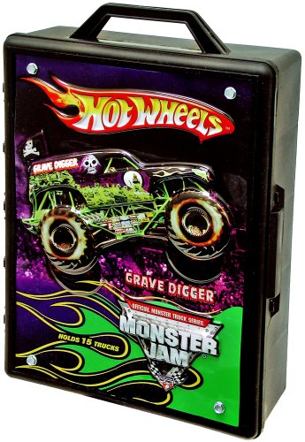 Hot Wheels Monster Jam Carrying Case