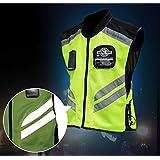 GearX Abbigliamento di sicurezza industriale Vest Vestibilit/à Riflettente