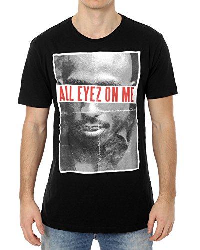 Mister Tee Herren T Shirt Kurzarm 2Pac All Eyez On Me