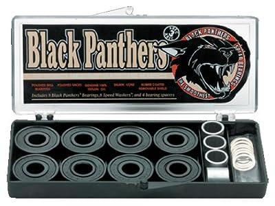 Shorty'S Abec3 8 Stück Black Panther