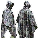 Aodoor Regenjacken Regenponcho wasserdicht regenmantel für die Jagd Camping
