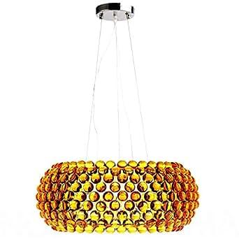 Lampe Pendante Caboche 50cm Patricia Urquiola Style Doré