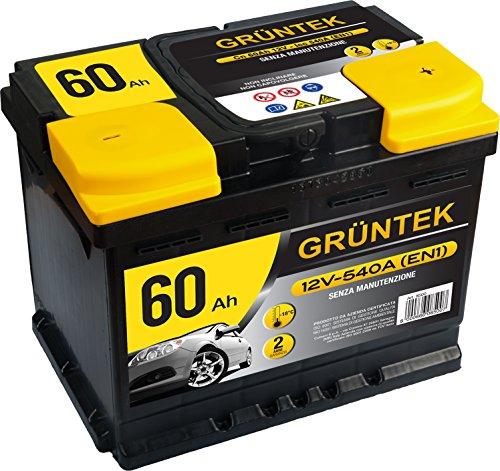 Gruntek L2 Batteria Auto 60AH 540A 12V