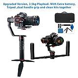 FeiyuTech A2000   El mejor estabilizador para cámaras de hasta 2,5Kg