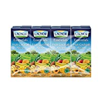 ‏‪Lacnor Liquid Mixed Fruit Juice - 180 ml x 8‬‏