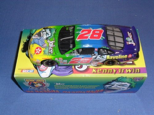 1998-nascar-action-racing-collectibles-kenny-irwin-28-texaco-the-joker-ford-taurus-1-24-diecast-limi