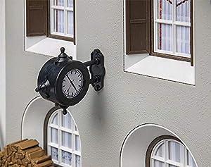 POLA Po 333220-Reloj de Pared, Accesorios para el diseño de ferrocarril, Modelo