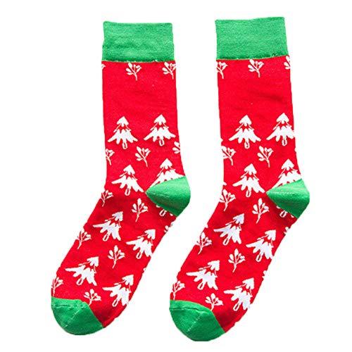 Greetuny Damen Socken One Size Gr. One Size, Rouge Arbre - Arbres Rouges