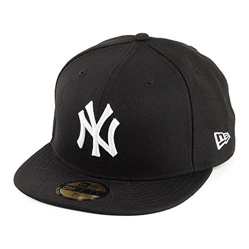 Casquette 59FIFTY New York Yankees noir-blanc NEW ERA - 6 7/8