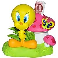 Preisvergleich für Unbekannt Spardose - Tweety Looney Tunes - stabile Sparbüchse aus Kunstharz / Kunststoff - Sparschwein für Mädchen Jungen Vogel Pilz Schmetterling
