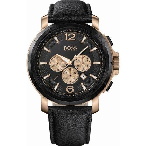 HUGO BOSS HB-1512457 GENTS CHRONOGRAPH MINERAL GLASS QUARTZ WATCH