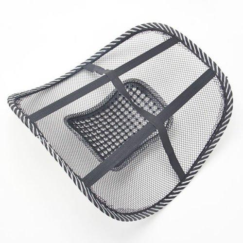 Preisvergleich Produktbild Auto Sitz Rückenstütze Rückenlehne Netz Kissen Massage für Rückenschmerzen