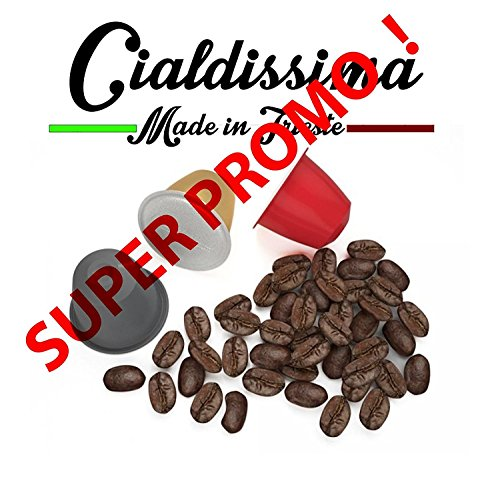 Cialdissima 300 capsule caffÈ nespresso! 100% compatibili! linea espresso bar!