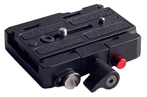 kingjoy kh-6251Rapid Connect Adapter Platte mit Schiebetür Schnellwechselplatte und Wasserwaage (Heavy-duty-video-stativ)