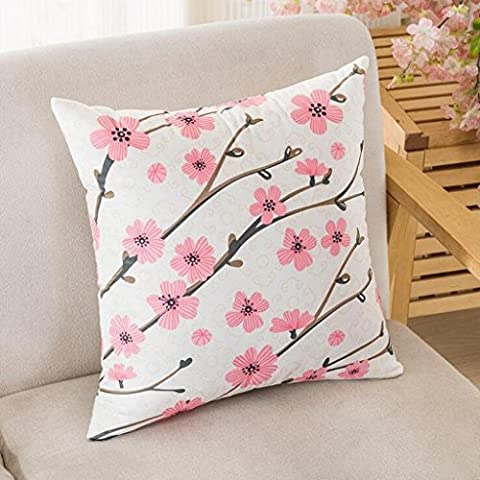 Floral Pastoral Wind Core contenant Car Office Home Depot Coussin Oreiller , a