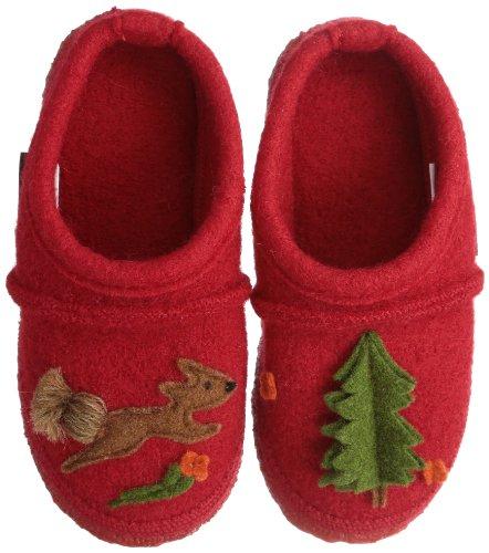 Nanga  Squirrel, Pantoufles fille Rouge - Rot (Rot)