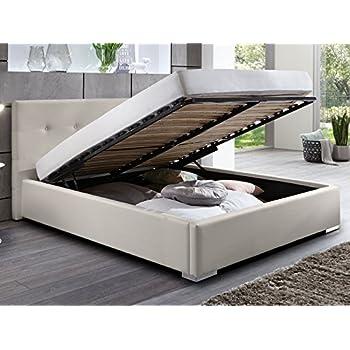 Lederbetten Polsterbett Designer Leder Bett Doppelbett