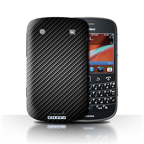 Stuff4® Hülle/Hülle für BlackBerry Bold 9900 / Grau Muster/Kohlenstoff-Faser-Muster Kollektion -