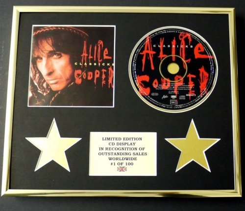 ALICE COOPER/CD Display/Limitata Edizione/Certificato di autenticità/CLASSICKS