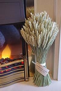 Bouquet de blé et de maïs à affichage sur pied en forme de Bouquet de fleurs séchées