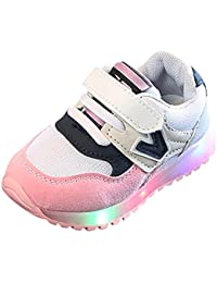 competitive price d8bfb be57c FRAUIT Scarpe da Ginnastica Basse Bimba Scarpe Bambina Carnevale  Traspirante Sneakers Casuale Unisex Scarpe Da Corsa Bambino…