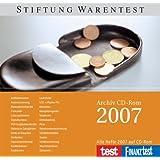 test und FINANZtest 2007 Archiv. CD-ROM für Windows Vista/XP/2000 und Mac OS 10.4.3