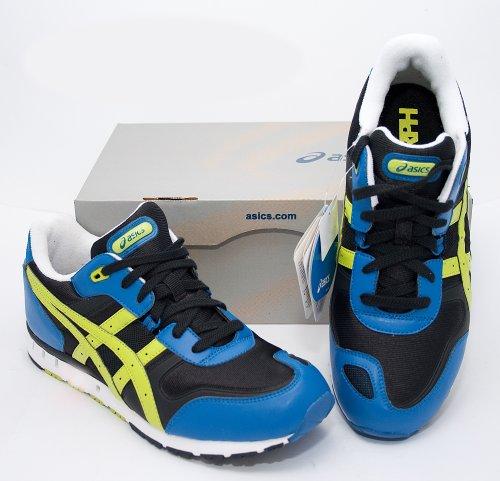 Asics , Chaussures de course pour homme - BLACK/LIME GREEN
