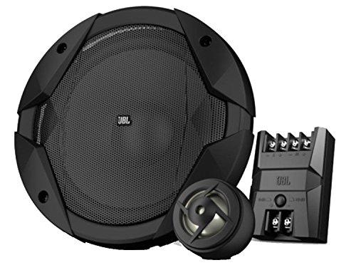 "JBL GT7-6C GT Serie 6-1/2""  165 mm 2-Wege Komponenten Lautsprechersystem Inkl. 1 Paar Mitteltöner-Lautsprecher und 1 Paar Hochtöner-Lautsprecher - Schwarz"