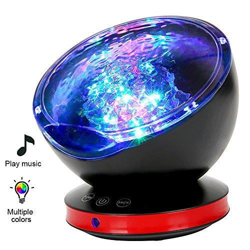 Lámpara Proyector, Océano con 45 Grados de Rotación