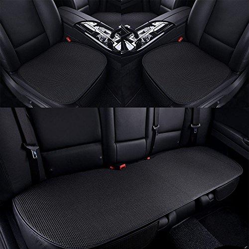 HAN sur les Song Set Housse De Siège Pour Voiture, 3pièces, accessoires pour voiture, Protection pour sièges Noir