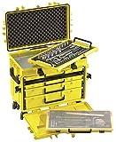 Stahlwille 13217 LGE Werkzeug-Trolley leuchtgelb