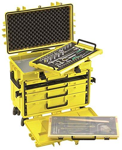 Stahlwille Werkzeug-Trolley leuchtgelb, 13217 LGE