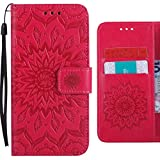 For Wiko Lenny 4 Flip Case, Ougger Blooming Print Wallet