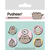 Pusheen - Says Hi Set De Chapas (15 x 10cm)