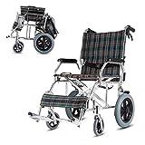 Faltbarer Rollstuhl, Ultraleichter, Älterer Und Untauglicher Roller, Reise-Tragbarer Kleiner Rollstuhl, Kann Im Stamm Des Autos Gesetzt Werden