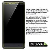 dipos I 2X Schutzfolie klar passend für LG Optimus G2 Folie Displayschutzfolie