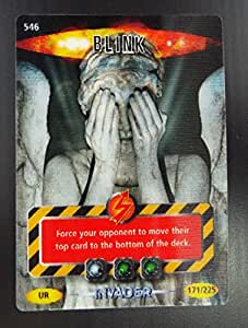 Doctor Who - Single Card : Invader 171 (546) Blink Dr Who Battles in Time Ultra Rare Card