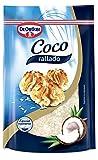 Copos de coco para pasteles y postres