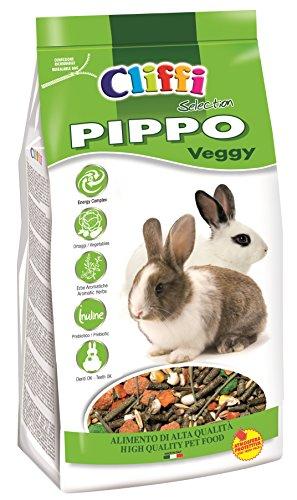 Cliffi PIPPO VEGGY Mangime Completo per Conigli Nani con Erbe di Campo e Verdure - 2.5 Kg