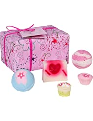 Bomb Cosmetics Pretty in Pink Handmade Wrapped Gift Pack