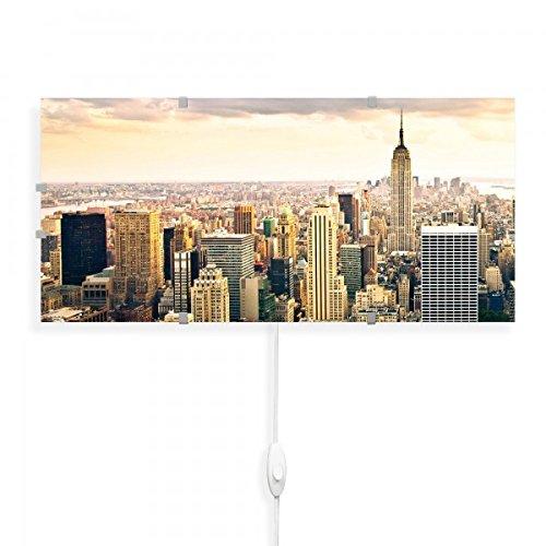 banjado-Wandlampe-56cmx26cm-Design-Wandleuchte-Lampe-LED-mit-Wechselscheibe-und-Motiv-New-York-City