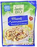 Jardin Bio Muesli Graines Gourmandes sans Sucres Ajoutés 375 g - Lot de 3