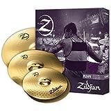"Zildjian Planet Z PLZ4PK 14"", 16"" and 20"" Cymbal Set, 3 Pack"