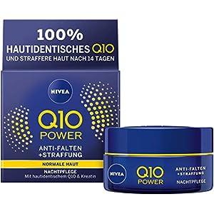 Nivea Q10Power anti-arrugas + la racionalización Noche Cuidado Para rejuvenecedora, 8778556Crema Noche, 2unidades (2x 50ml)