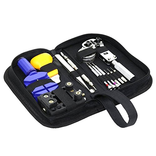 - 51zRq845sSL - MLXGER® Professional Watch Repair Tool Kit Set, Antimagnetic Screwdriver, Portable Tool Kit, Perfect Kit Watchmaker
