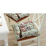 Fabric dining chair dämpfung Seasons chair kissen-S 43x43cm(17x17inch)