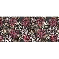 Tape Design 8056328002815Alfombra, Tela, Multicolor, 115x 65x 1cm