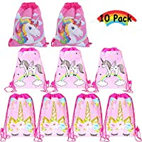 Aurorali Bags, 4 Pack Drawstring Backpack Bags Drawstring Bags Xmax Party Favors and Candy