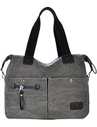iBaste El nuevo bolso ocasional de la moda retro literaria femenina de la bolsa de mensajero del bolso de hombro