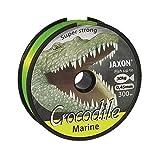Angel Ficelle mer Ficelle Jaxon Crocodile Marine Fluo/Jaune 300m bobine fil monofibre neuf et OVP (0,03€/m), Crocodile Marine, fluo-gelb, 0,45mm / 30kg